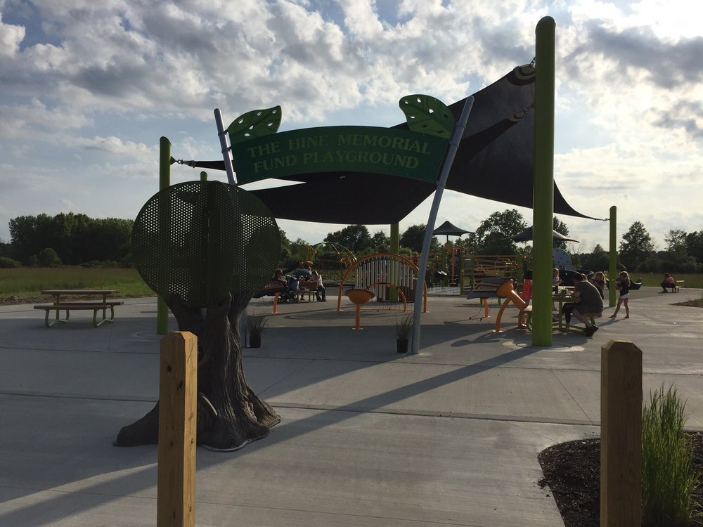 The Hine Memorial Fund Playground: 8696 Columbiana-Canfield Rd, Canfield, OH