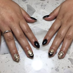 Photo Of Nails Art Canton Mi United States Full Set With Designs