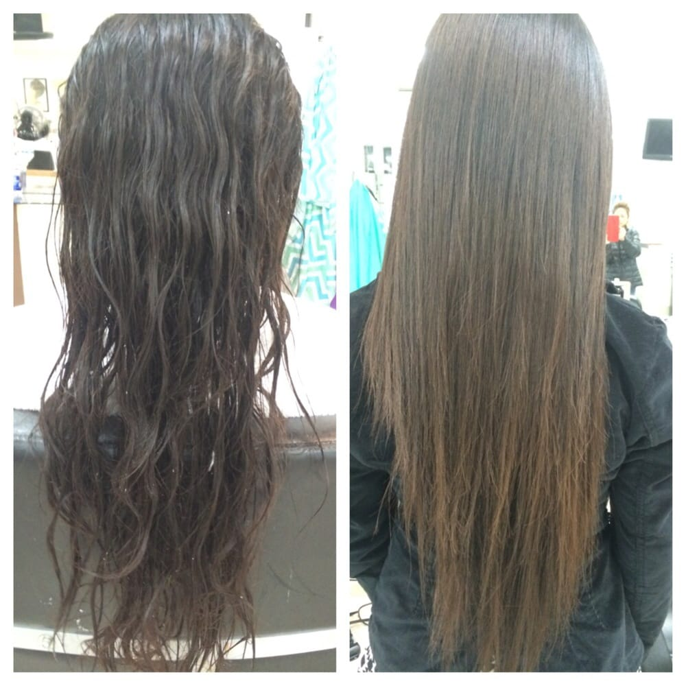 Straight perm winnipeg - Photo Of Amy Hieu Hair Salon Houston Tx United States Before And