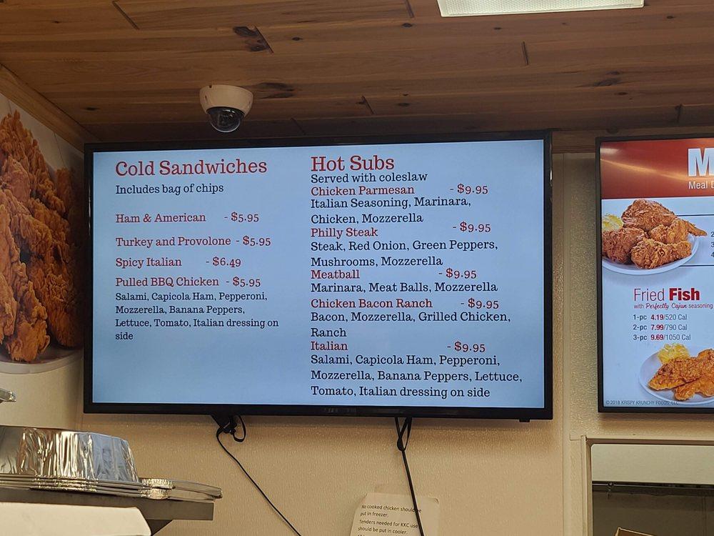 Krispy Krunchy Chicken: 3521 County Rd 612, Lewiston, MI