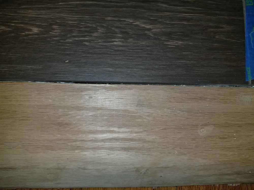 Unfinished Wood Door Threshold Never Finished And Didnt Fill With