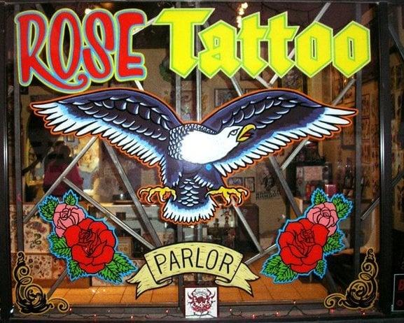 Rose Tattoo Parlor
