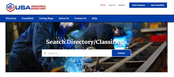 USA Industrial Directory - Advertising - 9445 Indianapolis