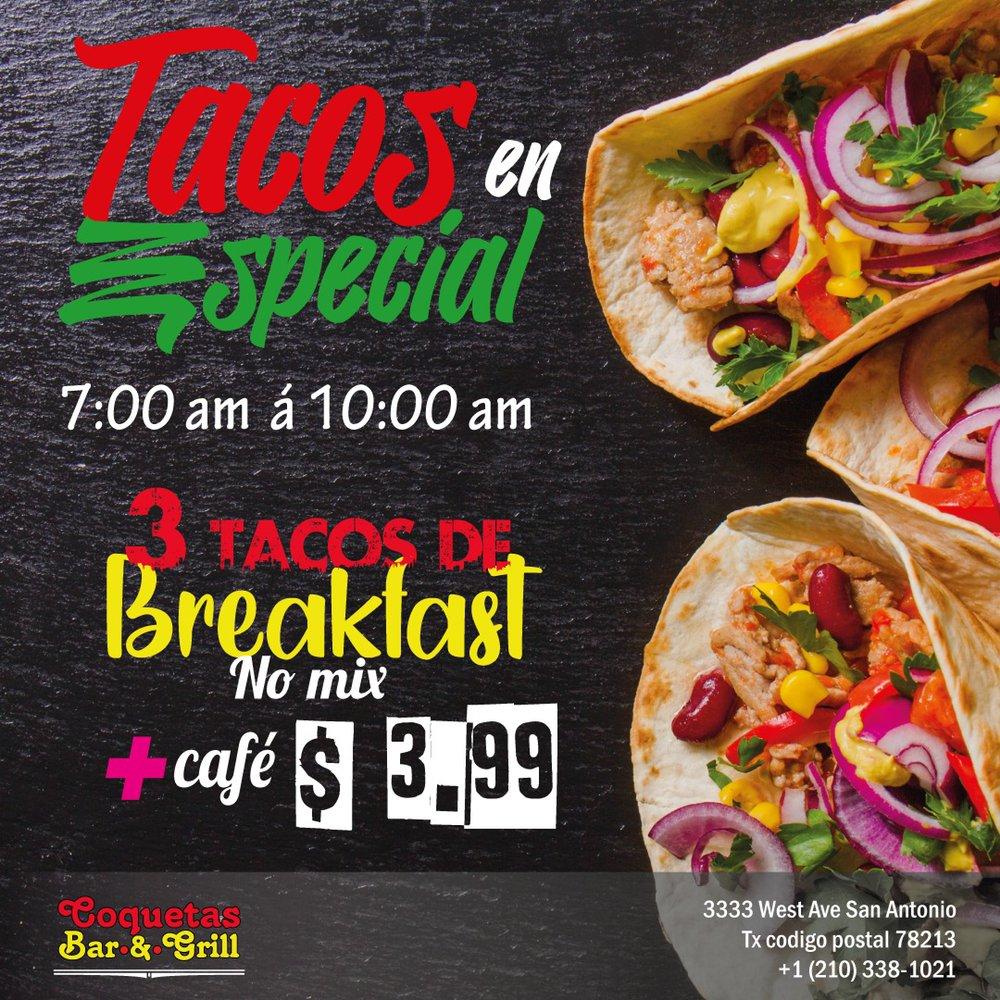 Coquetas bar & grill: 3333 West Ave, San Antonio, TX