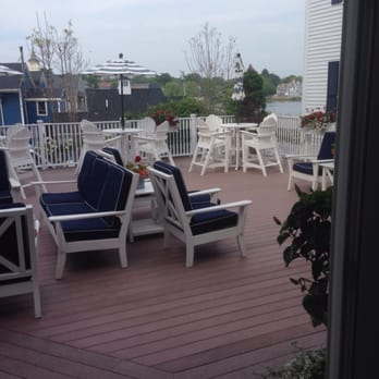 Photo of Kennebunkport Inn   Kennebunkport  ME  United States  Delightful  outdoor seating Kennebunkport Inn   49 Photos   34 Reviews   Hotels   One Dock Sq  . Porch Dining Room Kennebunkport. Home Design Ideas