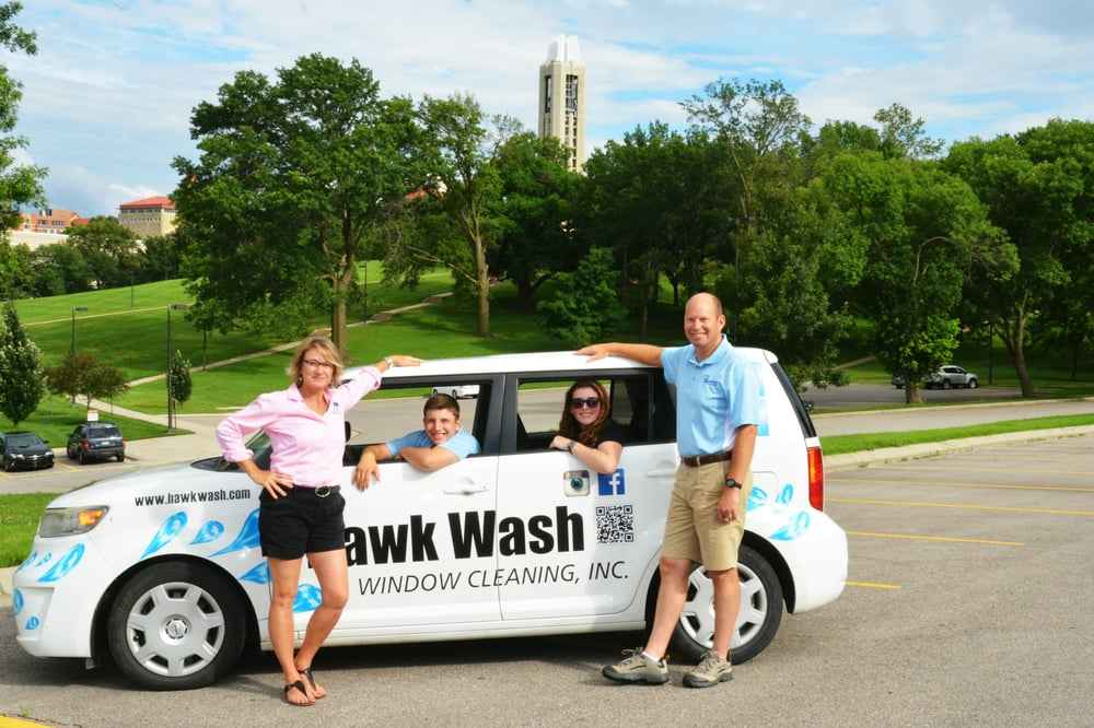 Hawk Wash Window Cleaning: Lawrence, KS