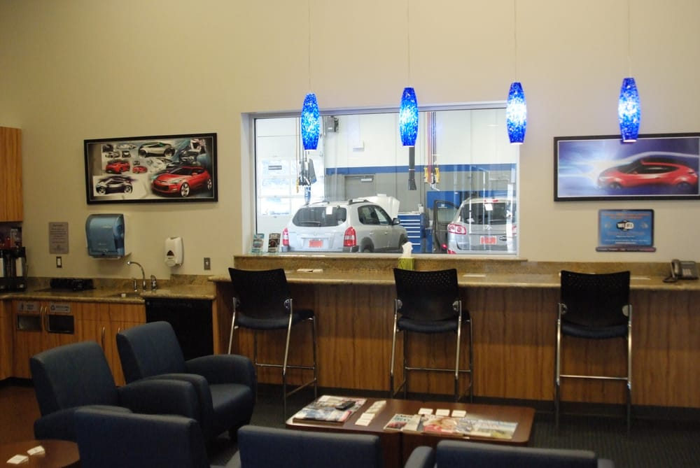 Relax in our comfortable customer lounge while our master for Bronco motors hyundai nampa