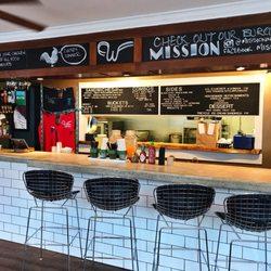 Photo of Winner Winner - Newport, RI, United States. Inside the restaurant  ...