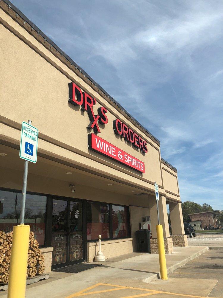 Dr's Orders Wine & Spirits: 451 W Hudson Rd, Rogers, AR