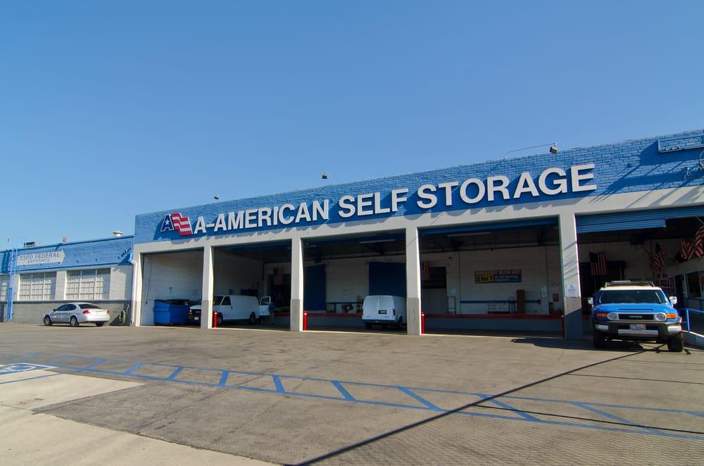 A American Self Storage 58 Reviews Self Storage