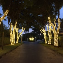 photo of mr christmas lights miami beach fl united states