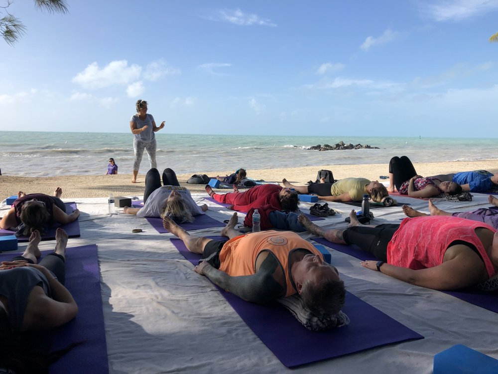 Yoga on the Beach: 601 Howard England Rd, Key West, FL