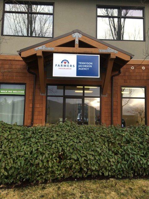 Farmers Insurance - Tennyson Jacobson | 8026 Douglas Ave SE Ste 101, Snoqualmie, WA, 98065 | +1 (425) 888-0553