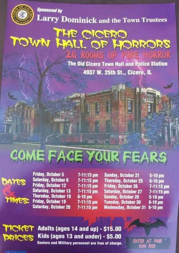 The Cicero Town Hall House Of Horrors: 4937 W 25th St, Cicero, IL