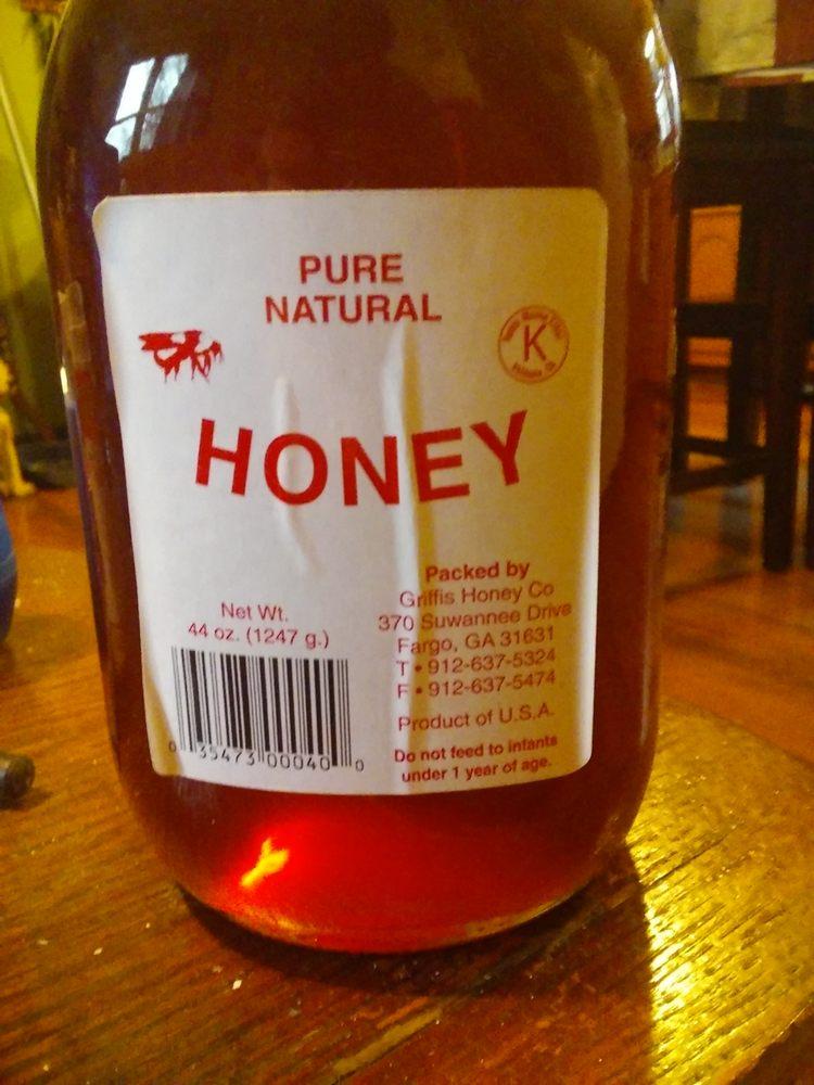 Griffis Honey: 370 Suwannee Dr, Fargo, GA