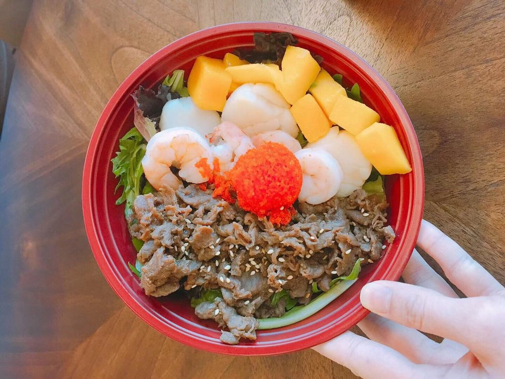 Food from Grey Whale Poke Bowl