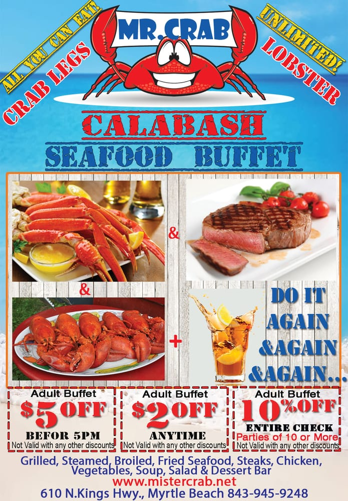 Discount coupons for restaurants in myrtle beach sc