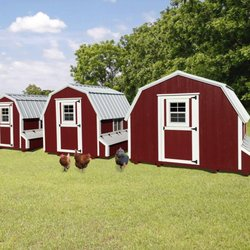 photo of countryside barns eureka il united states chicken coops with exterior