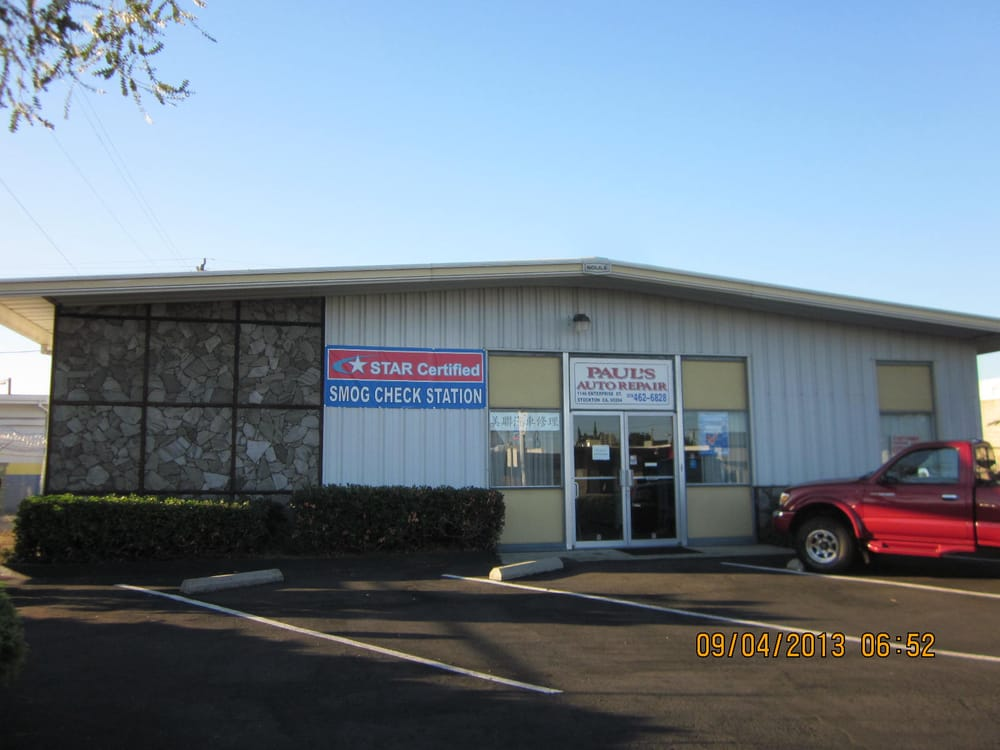 Paul S Auto Repair And Star Certified Smog Station 32