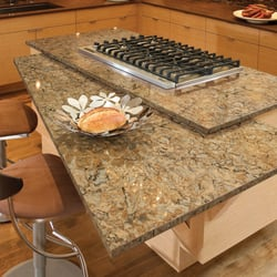 Photo Of Granite Works Countertops   Rockville, MD, United States.  Buckingham Kitchen Island