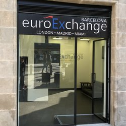 Photo Of Euro Exchange Barcelona Spain