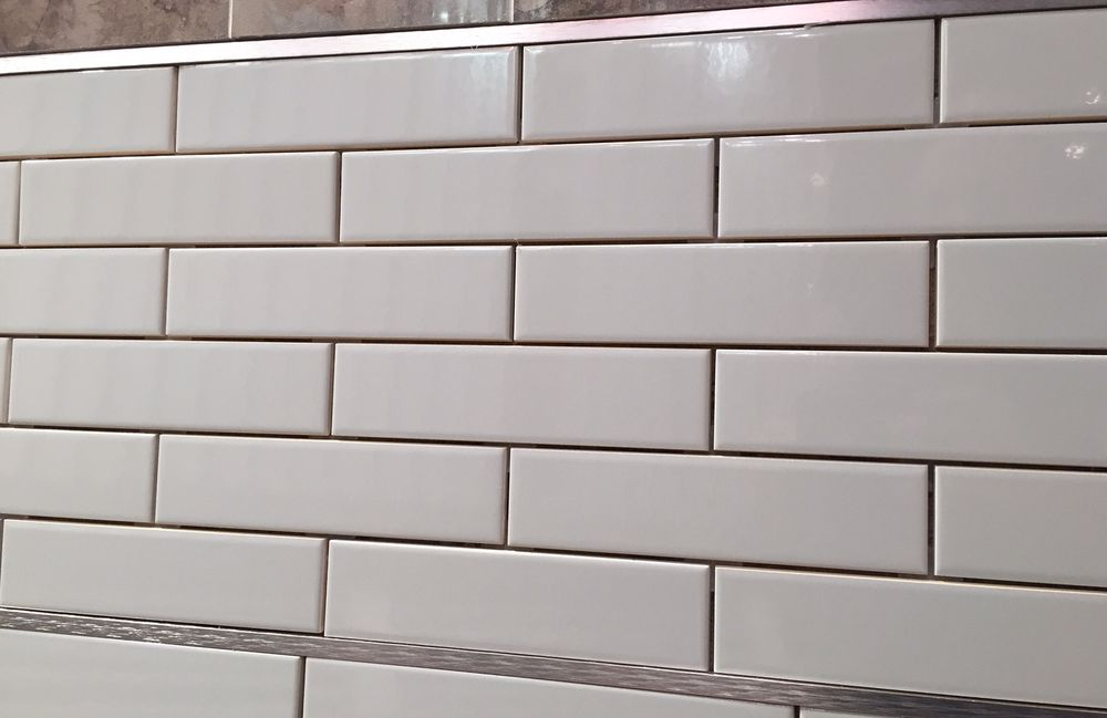 Subway Tile 2 X 8 U761 28 Tender Gray Bright United States