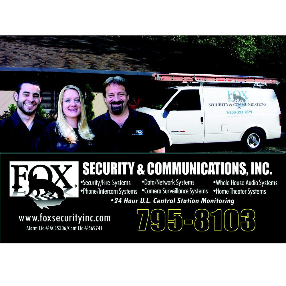 Fox Security & Communications: 908 Moran Rd, Arnold, CA