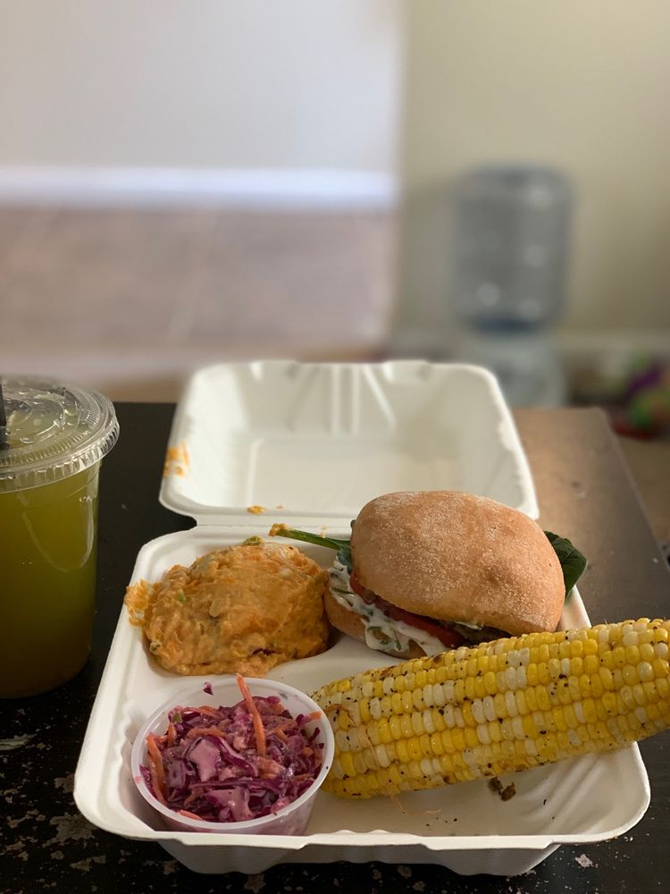 Food from With Love Co. - A Plant-Based Sip & Eat Joint