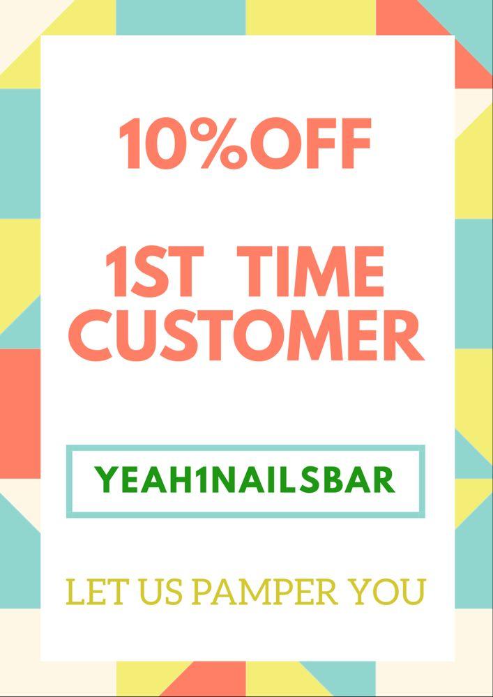 Yeah 1 Nails Bar: 2801 W 15th St, Plano, TX