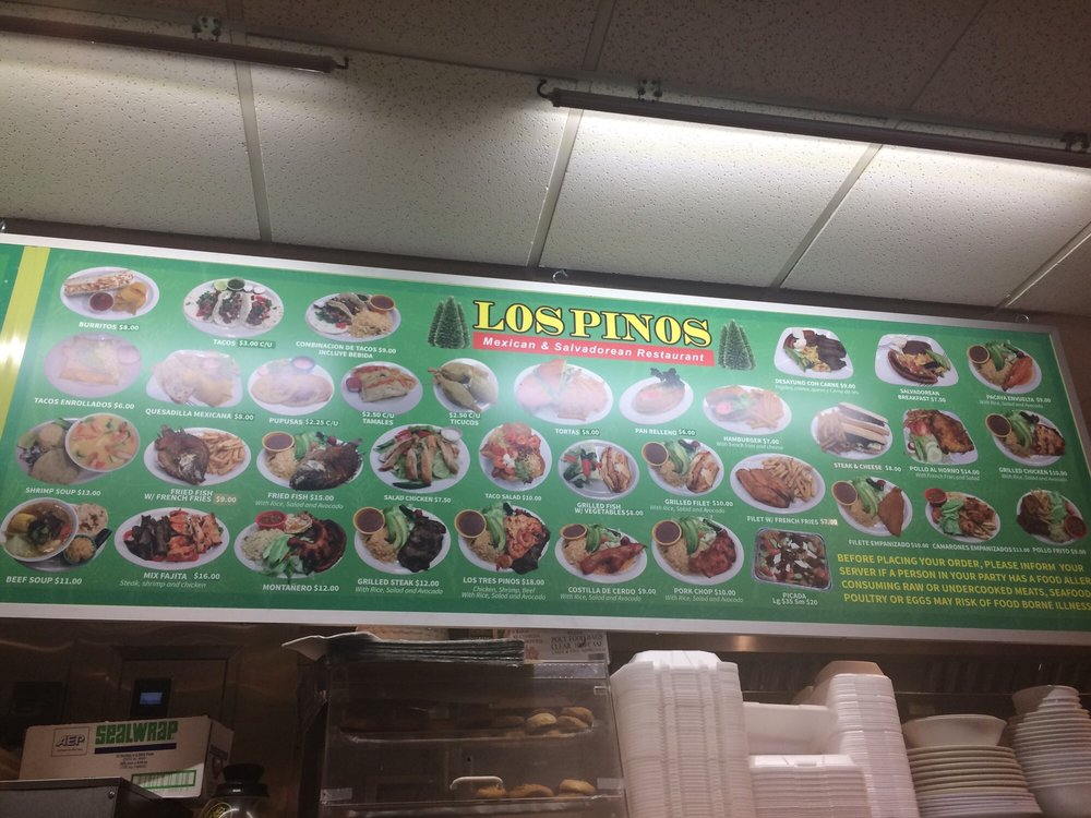 Los Pinos Mexican Restaurant & Grill: 82 Bennington St, Boston, MA