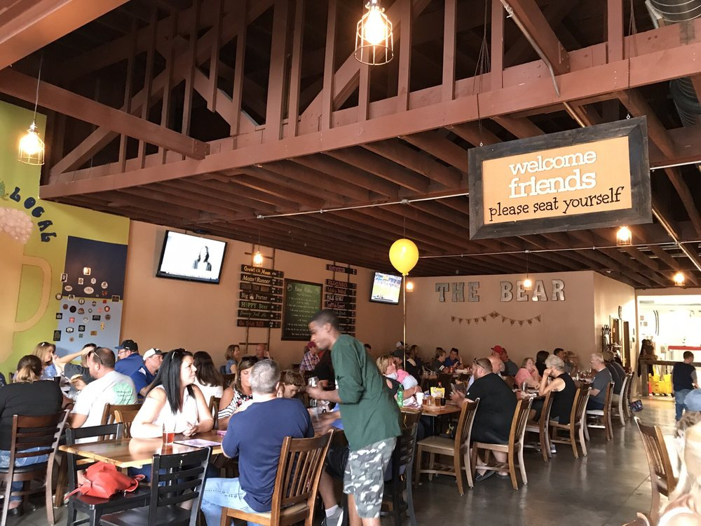 Wooden Bear Brewing Company: 21 W North St, Greenfield, IN