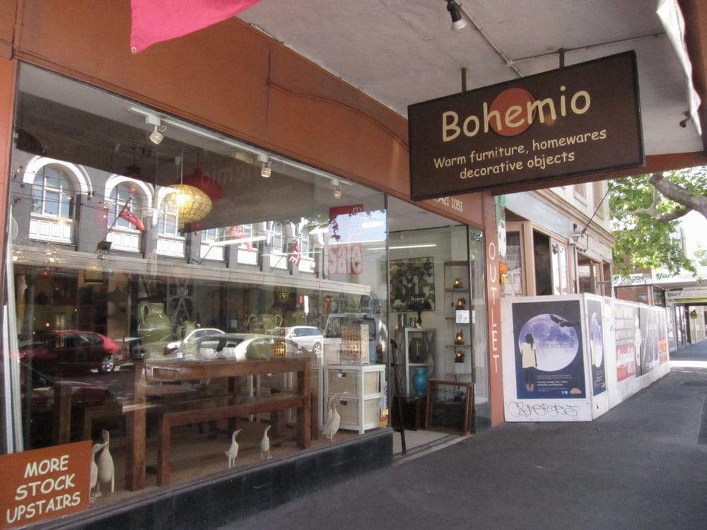 Bohemio furniture homewares m belbutikker 111 swan st richmond richmond victoria Home furniture victoria street