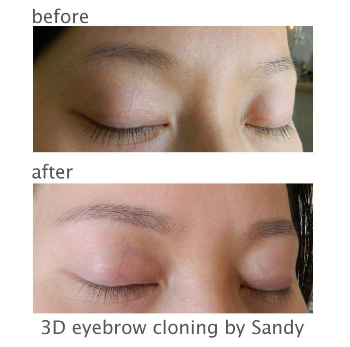 3d Eyebrow Embroidery Eyebrow Cloning Healed Results Yelp