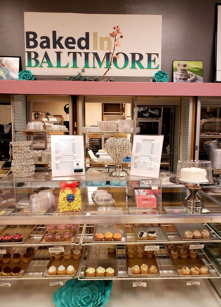 Baked In Baltimore: 6848 Reisterstown Rd, Baltimore, MD