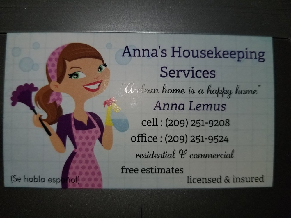 Anna's Housekeeping Services: Herald, CA
