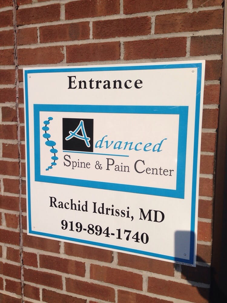 Advanced Spine and Pain Center: 1 Medical Dr, Benson, NC
