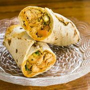 Garden Vegetable Soup Photo Of Hummus Kitchen   New York, NY, United  States. Moroccan Wrap