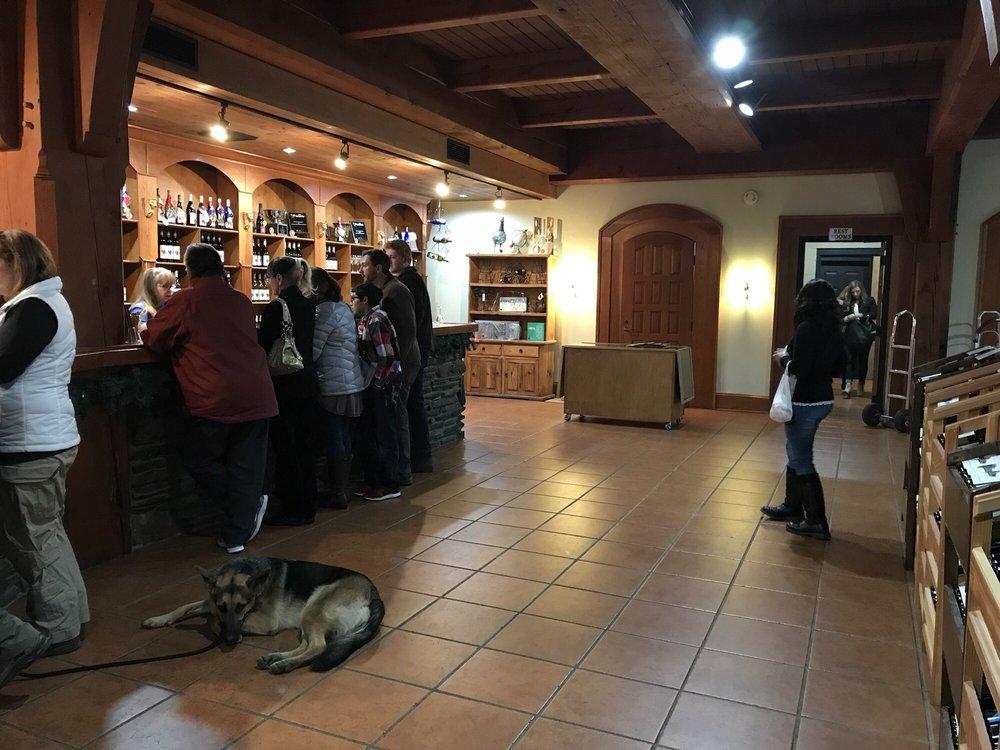 Chateau Morrisette Winery: 291 Winery Rd SW, Floyd, VA