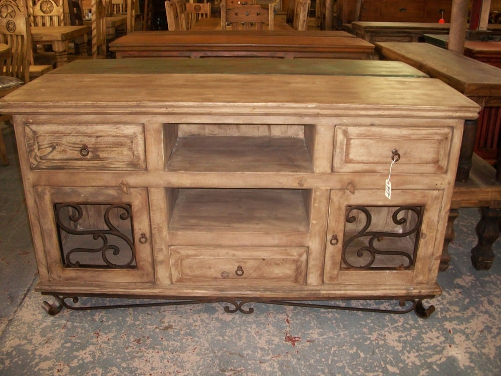 reclaimed wood antique white wash 66 inch long tv stand yelp. Black Bedroom Furniture Sets. Home Design Ideas