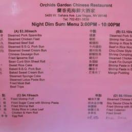Orchids Garden Chinese Restaurant 1042 761