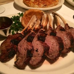The River Palm Terrace - Edgewater, NJ, United States. Amazing rack of lamb special. Highly recommended.
