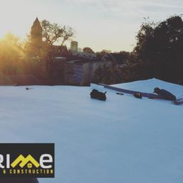 Photo Of Prime Roofing   Richmond, VA, United States. Wrapping Up A New