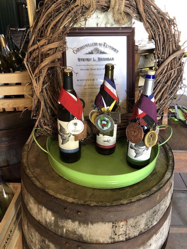 Baker Bird Winery: 4465 Augusta Chatham Rd, Augusta, KY