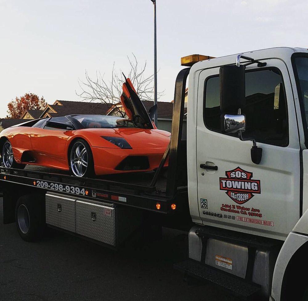 S O S Towing: 1404 E Weber Ave, Stockton, CA