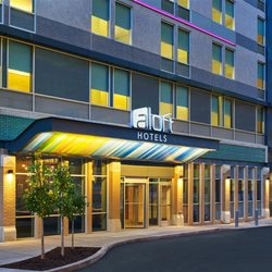 Photo Of Aloft Louisville Downtown Ky United States Porte Cochere