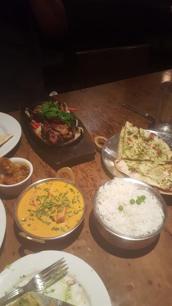 Tandoori Rack Of Lamb Chicken Tikka Indian Pickles Basmati Rice And Garlic Basil Naan Yelp