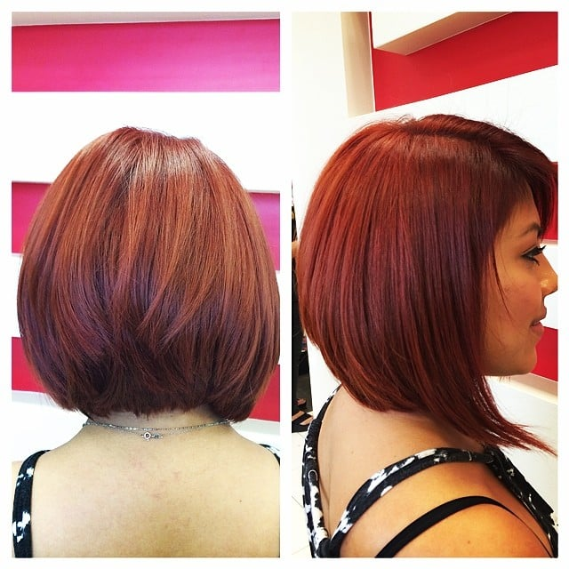 Absolutely Stunning Redhead, Color, Bob Cut \u0026 Style by