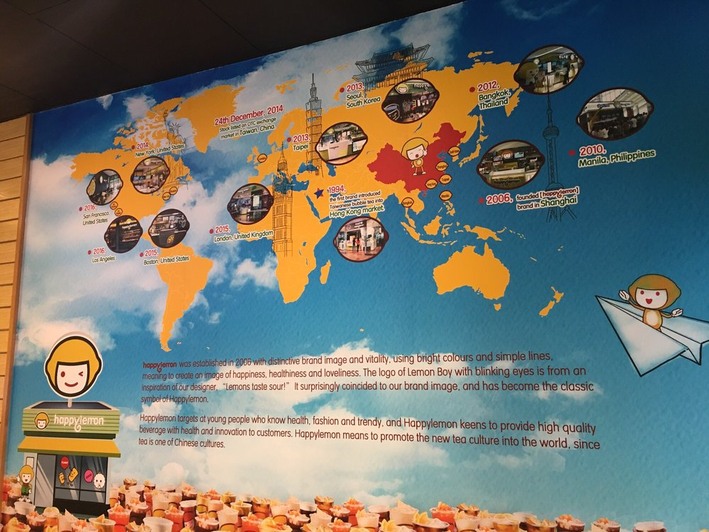 Map of happy lemon around the world yelp photo of happy lemon vancouver bc canada map of happy lemon around gumiabroncs Gallery