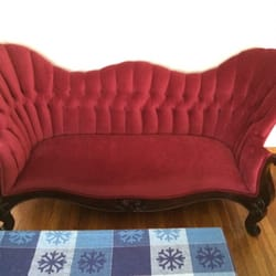 Lovely Photo Of Classic Upholstery   Wilmington, MA, United States. Antique Tufted  Sofa ...