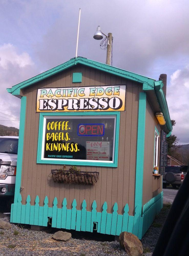 Pacific Edge Espresso: 225 Garibaldi Ave, Garibaldi, OR